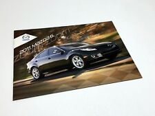 2011 Mazda 6 Brochure