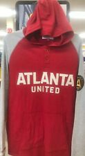 Atlanta United FC Mitchell & Ness Lightweight Pullover Hoodie Maroon Size L