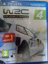 WRC 4 FIA World Rally Championship PS Vita Carreras en castellano In english
