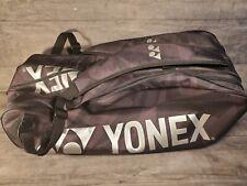 YONEX TOUR EDITION 12-PACK FULL TENNIS BAG  BLACK / GREY
