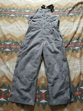 Polar King Insulated Bib Overalls Size L Youth