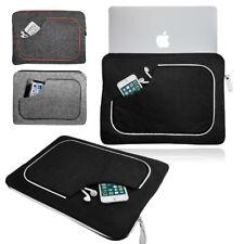 Smart sentir en la manga de cuero retro de tuberías que transportan Funda Protectora Para Apple Macbook
