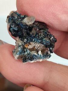 Lazulite with Quartz & Siderite Rapid Creek Yukon Canada Dawson Mining