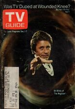 1973 TV Guide December 1 Bill Bixby - The Magician; needles and Pins;Perry Mason