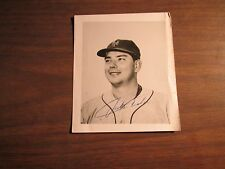 1960'S TEAM ISSUED JACK FISHER METS 4 X  5 PUBLICITY PHOTO- FACSIMILE AUTO