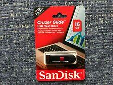 SanDisk Cruzer Glide 16GB USB Disk Flash Pen Drive Memory Stick NIB SEALED