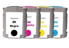 TINTA 4x GEN 88 XXL compatible L7700 L7710 L7750 L7780 L7880 NONOEM HQLTY