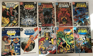 DC The New Teen Titans 36 Comic Lot 1-31 Near Complete + Annuals Vol. 2 1984