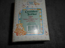 Cherished Teddies 176044 Jeffrey Striking Up Another Year - Figurine