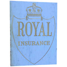 Large Fine Architectural Marble & Gilt Inscribed Royal Insurance Building Sign
