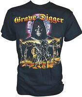 GRAVE DIGGER - Knights Of The Cross - Gildan T-Shirt - S / Small - 164234