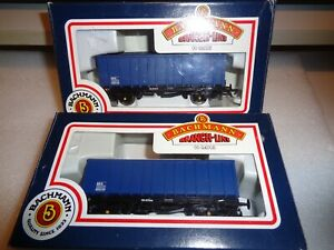 Bachmann 33-377 MEA Mineral Wagons x 2 Boxed new condition      17205207