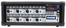 Rockville RPM85 2400w Powered 8 Channel Mixer, USB, 5 Band EQ/ Effects/Bluetooth