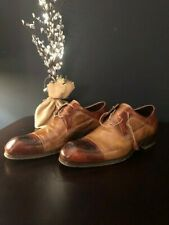 Incredible Pair of Men's Domenico Vacca Designer Shoes. Size 11