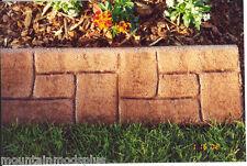 Concrete Cement Plaster Landscape Curbing Castle Stone texture imprint Roller