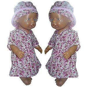 PK10 Puppenkleidung für Baby Puppen 43cm