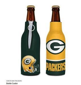 Verde Bay Packers Borsa Termica per Bottiglie NFL Calcio Raffredda Bottiglie