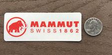 MAMMUT Red MAMMOTH Swiss STICKER Decal HIKE Fish CAMP Car YETI Outdoor VSCO