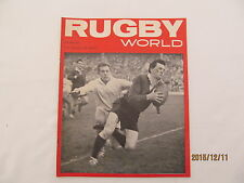 Rugby Union Magazine--Rugby World October 1965.