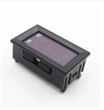 Dual Led Digital Volt Meter Ammeter Voltage Amp Power Meter 12v Dc 45 30v 0 50a