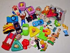 Vintage Mixed Lot of McDonald's Happy Meal Toys Jetsons Simpsons Spider-Man