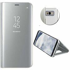 MP4 Telecom fliplux151 Clear View Étui Portefeuille pour Samsung Galaxy S8 - Argent