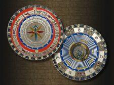 9cm Geocoin Mapamundi XXL Silber - Geocaching - aktiv - RAR- ausverkauft