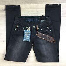 Stitch's Totem Black Stretch Skinny Women's Jeans Size 26 NWT (T18)