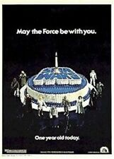 STAR WARS ~ FIRST BIRTHDAY 27x40 MOVIE POSTER A New Hope Episode IV 4