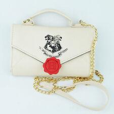 Harry Potter Hogwarts Stamp Letter Sidekick Handbag Shoulder Bags Women Wallets