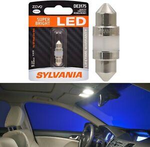 Sylvania ZEVO LED Light De3021 White 6000K One Bulb Interior Map Replace Fit