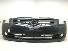 Front Bumper Cover Kit For 2007-2008 Nissan Altima w// Absorber//Reinforcement