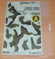 Tamiya 58496 Fast Attack Vehicle 2011/FAV, 1420495/11420495 Decals/Stickers, NIP