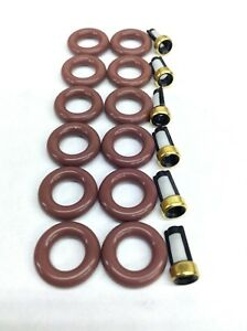 FUEL INJECTOR REPAIR KIT O-RINGS FILTERS 2002-2004 FORD F-150 4.2L V6 YR3E-A4A