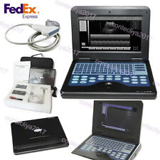 USA Portable Ultrasound Scanner Laptop Machine Linear Probe Diagnostic System