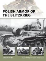 Polish Armor of the Blitzkrieg (New Vanguard) by Jamie Prenatt Paperback Book