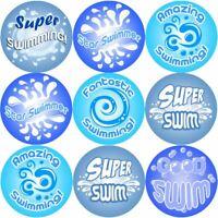 144 Swimming Rewards 30 mm Reward Stickers for School Teachers, Parents, Nursery