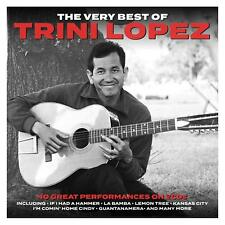 The Very Best of Trini Lopez 40 Original Tracks on 2 CDs La Bamba + Many more