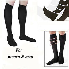 New Anti-Fatigue DVT Compression Anti-swelling Flight Travel Sports Nylon Socks