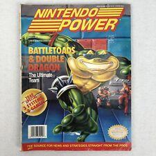 Nintendo Power Volume 49 Battletoads Double Dragon Yoshi Poster June 1993