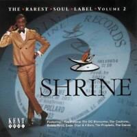 SHRINE THE RAREST SOUL LABEL VOLUME 2 Various  NEW & SEALED NORTHERN CD (KENT)