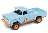 A.S.S NEU Johnny Lightning 1/64 Ford F-250 Pickup Gulf Racing Champions Mint