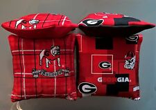 Georgia Bulldogs Cornhole Set of 8 Bags - NEW PRINTS!  - Tailgate Game Bags