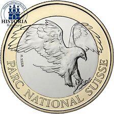 Suiza 10 francos coleccionista moneda 2008 stgl. parque Nacional serie: piedra Adler