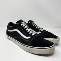 Vans OTW Mens 14 US Black Lace Up Low Top Skateboard Sneaker Shoes Off The Wall