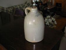 saltglazed stoneware handled jug - Owen Ried / 156 Charles Str. / Providence
