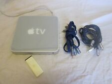 Apple TV (1st Generation) 40GB Media Streamer - A1218 Includes Remote and Leads