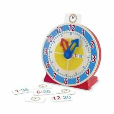 Melissa & Doug - Turn and Tell Wooden Clock