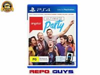 PS4 Ultimate Party Singstar for Playstation 4 Singstar Brand New