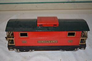 Lionel Prewar Standard Gauge 217 Coal Train Caboose